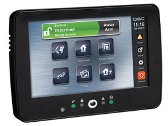 PowerSeries Neo touchscreen bedienpaneel